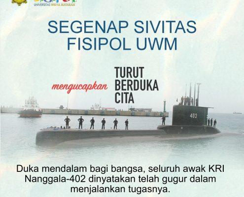 Turut Berduka Awak Kapal Nanggala