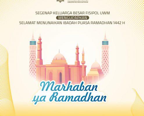 Ramadhan 1442 H Fisipol UWM